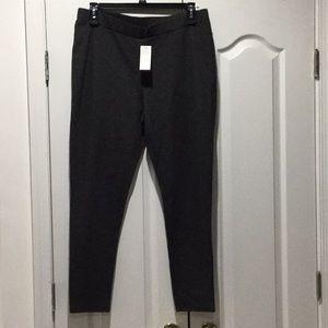 Premise 2x deep charcoal stretch leggings NWT